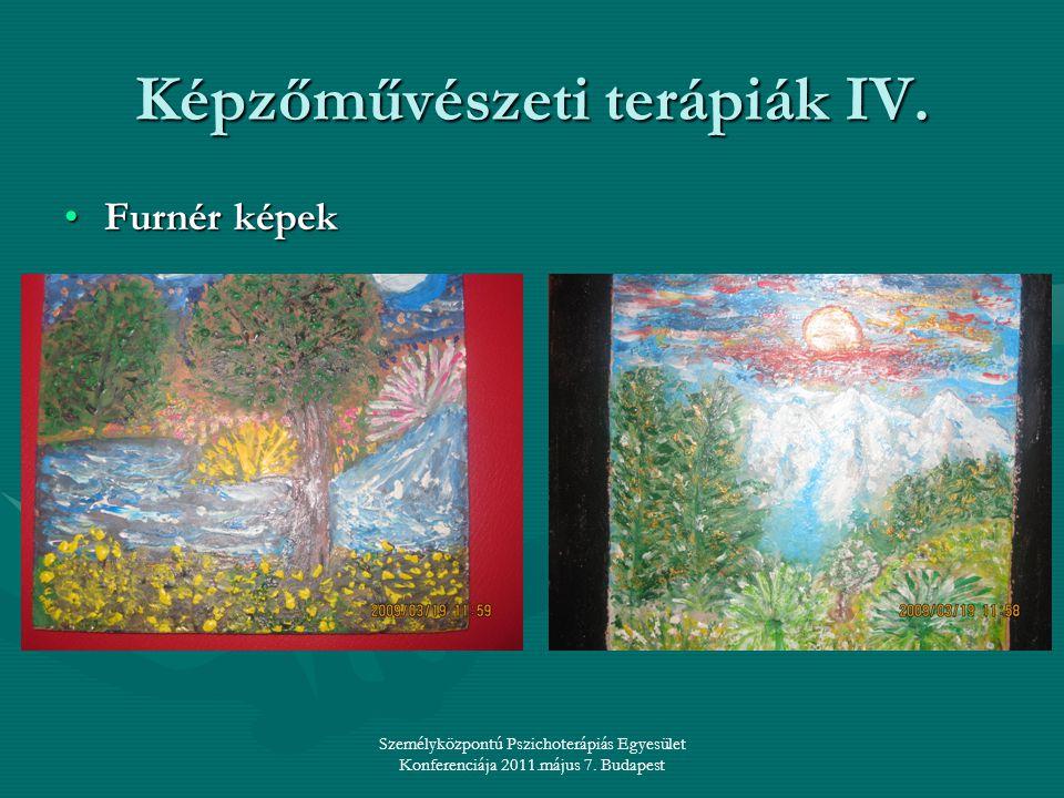 Képzőművészeti terápiák IV.
