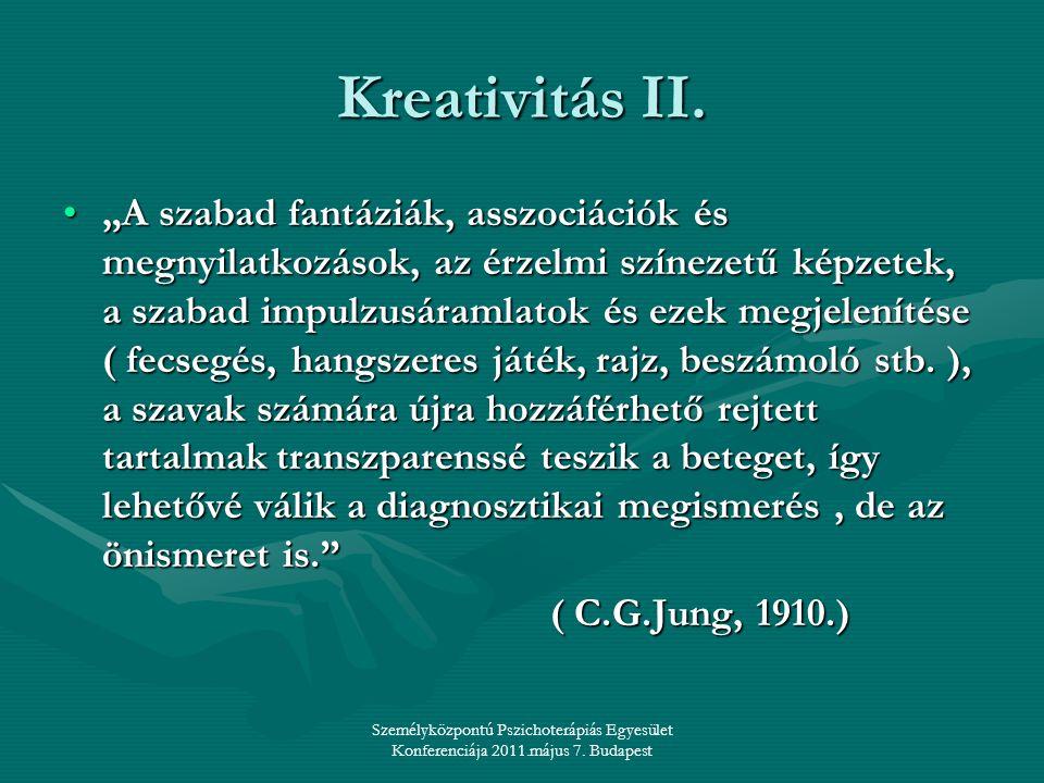 Kreativitás II.