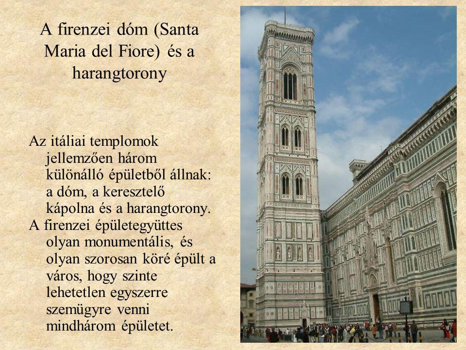 A firenzei dóm (Santa Maria del Fiore) és a harangtorony