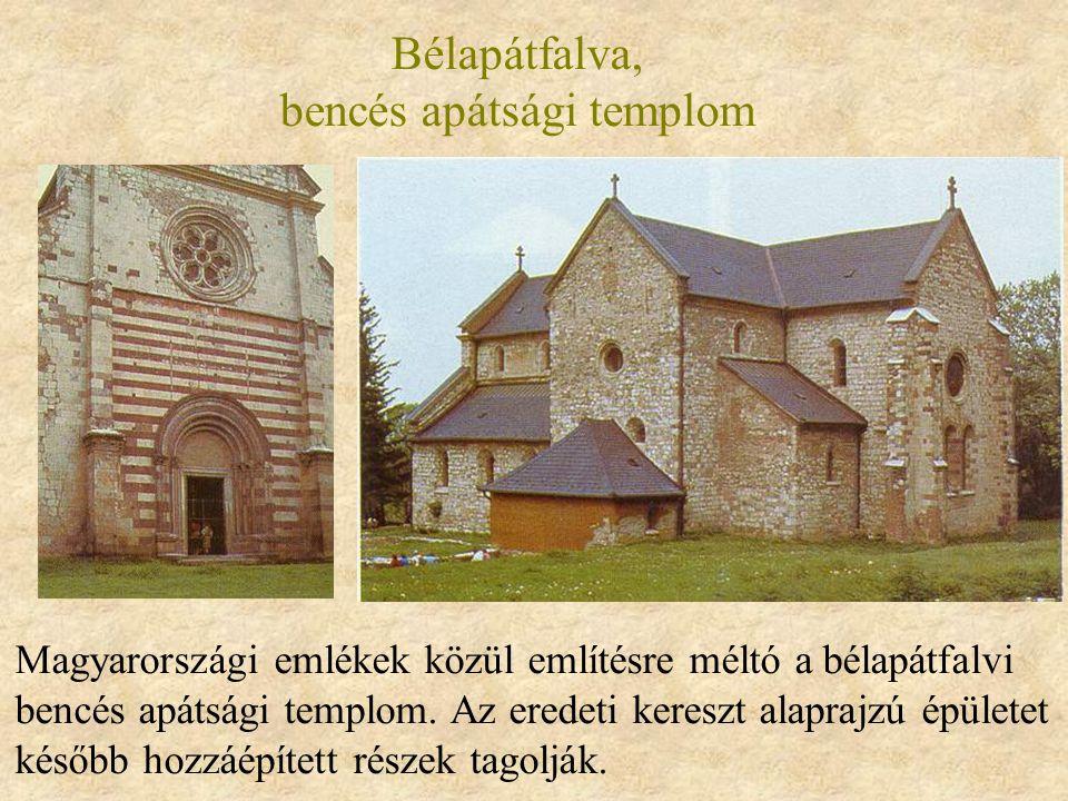 Bélapátfalva, bencés apátsági templom