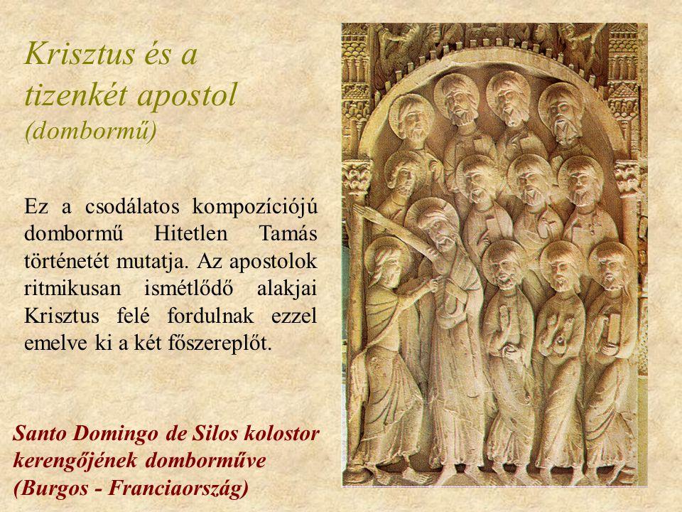 Krisztus és a tizenkét apostol (dombormű)