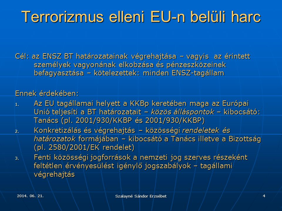 Terrorizmus elleni EU-n belüli harc
