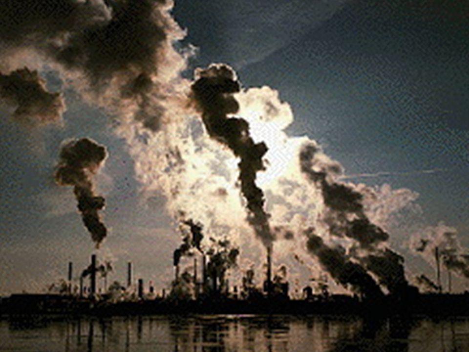 Az ipari tevékenység környezetszennyező hatása