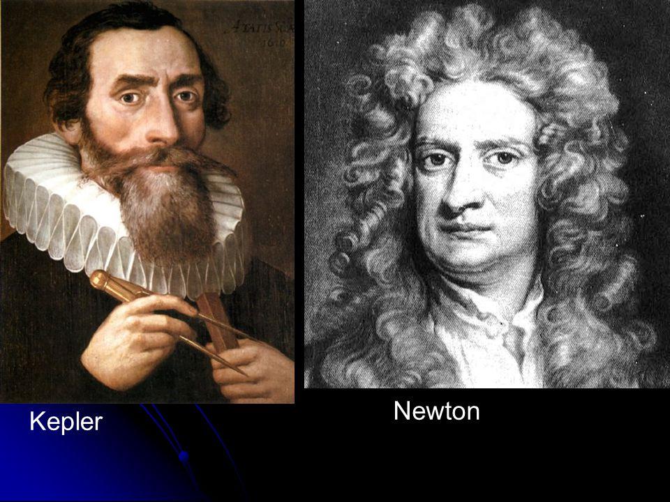 Newton Kepler