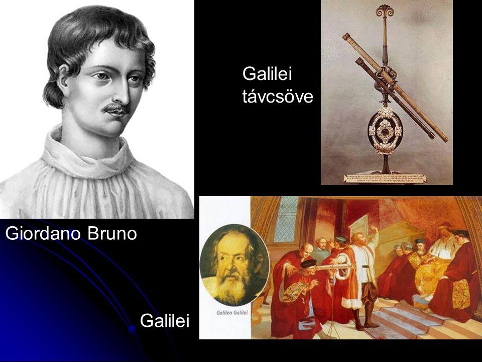 Galilei távcsöve Giordano Bruno Galilei