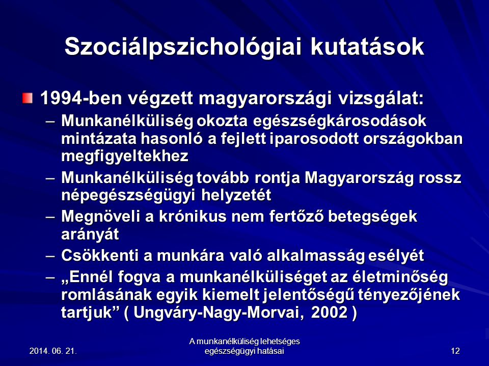Szociálpszichológiai kutatások