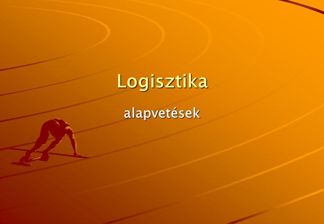 Logisztika alapvetések