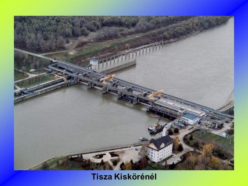 Tisza Kiskörénél