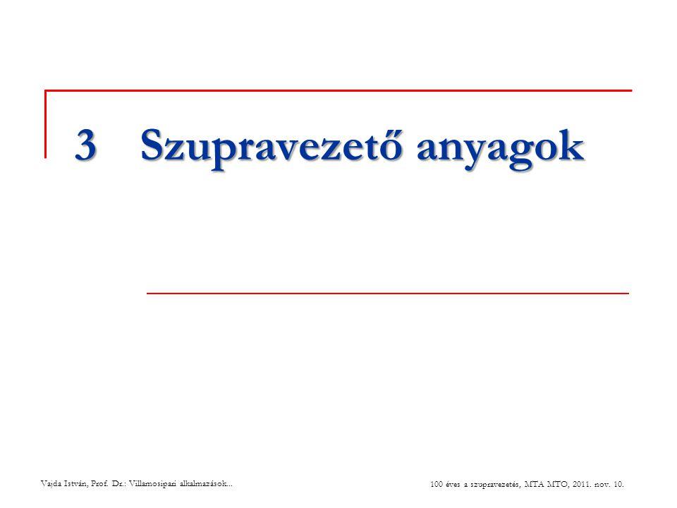 3 Szupravezető anyagok 27 July 2004