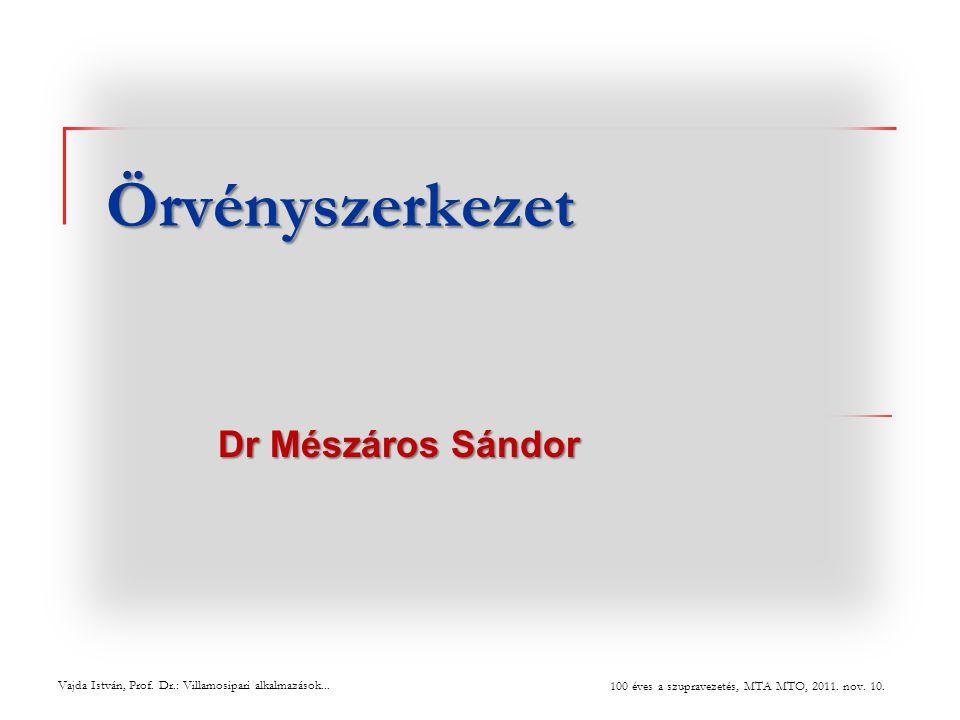 Örvényszerkezet Dr Mészáros Sándor i vajdfa