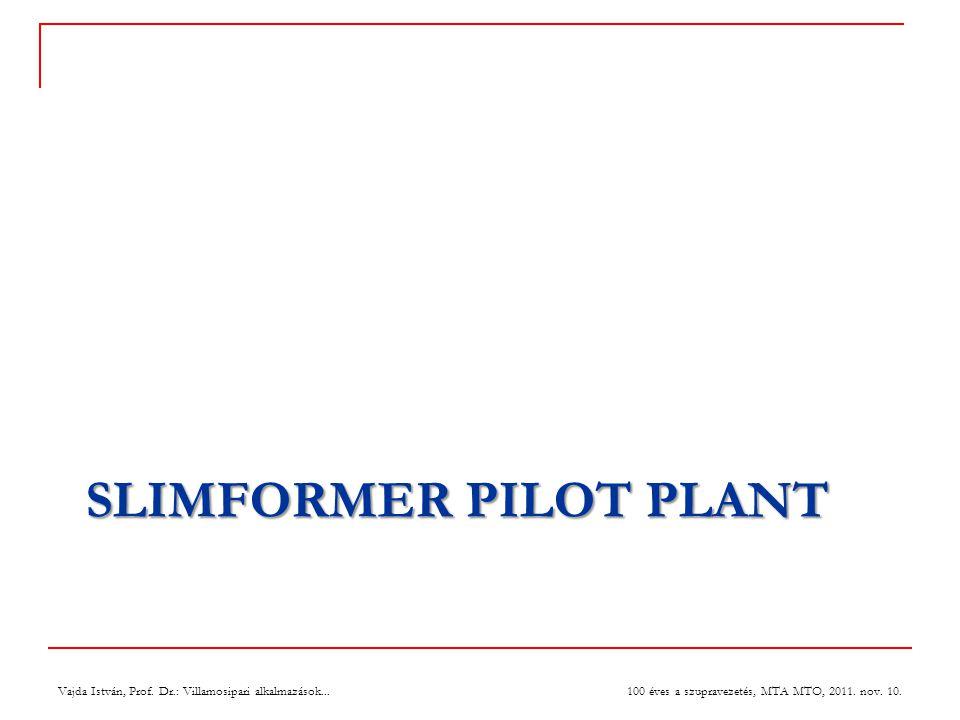 SLIMFormer Pilot Plant