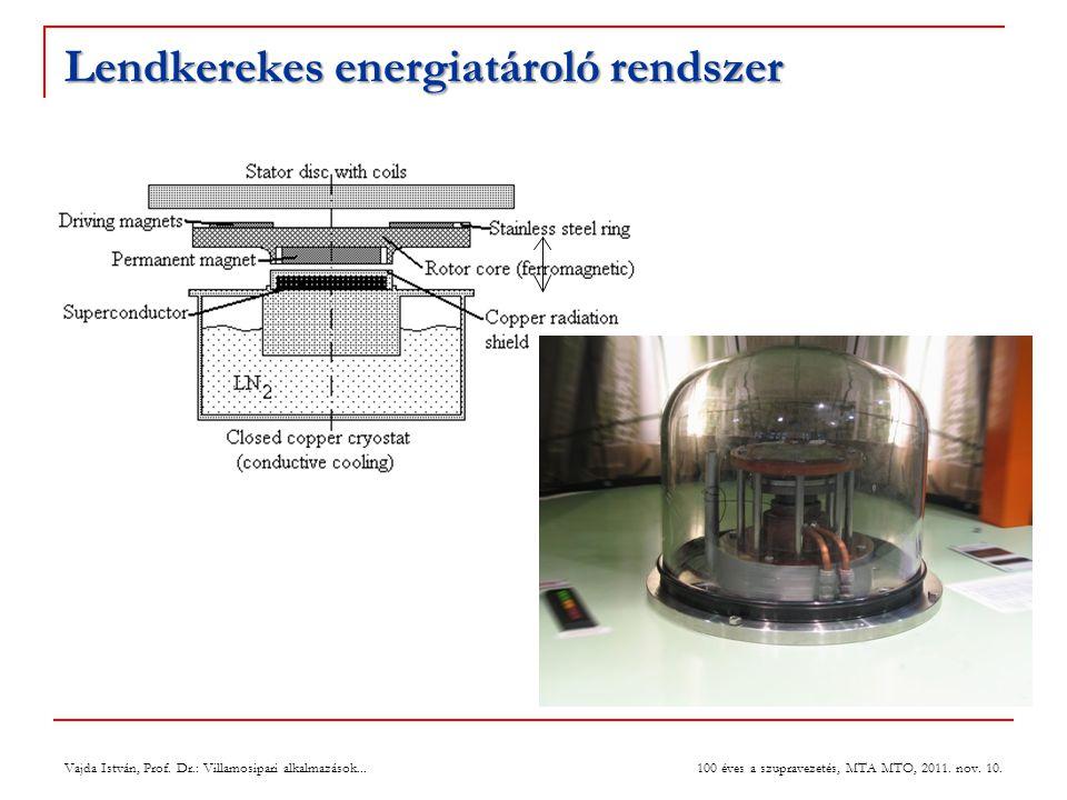 Lendkerekes energiatároló rendszer