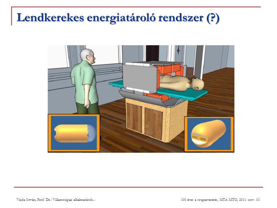 Lendkerekes energiatároló rendszer ( )
