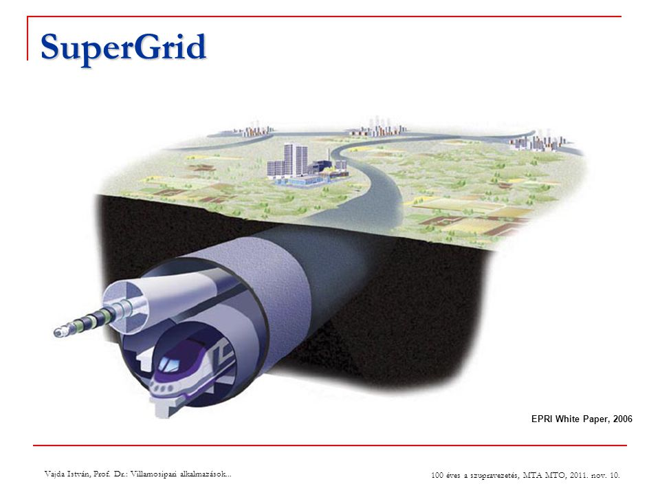 SuperGrid EPRI White Paper, 2006