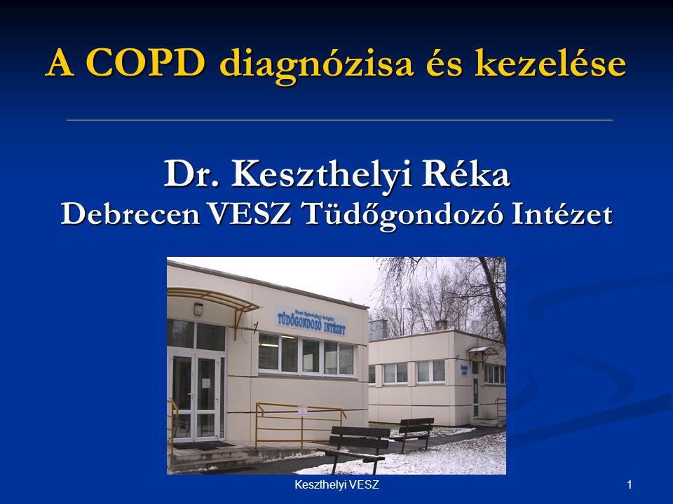A COPD diagnózisa és kezelése