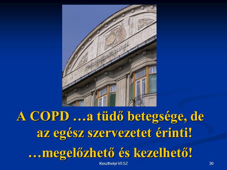 A COPD …a tüdő betegsége, de az egész szervezetet érinti!