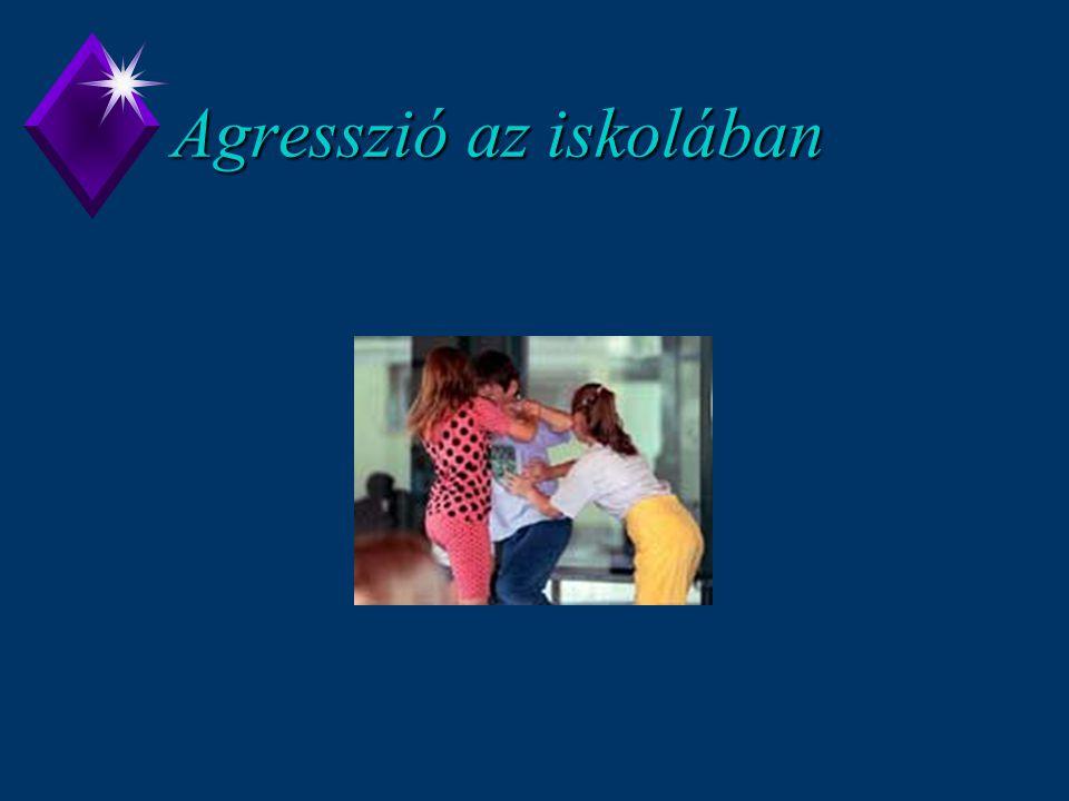Agresszió az iskolában