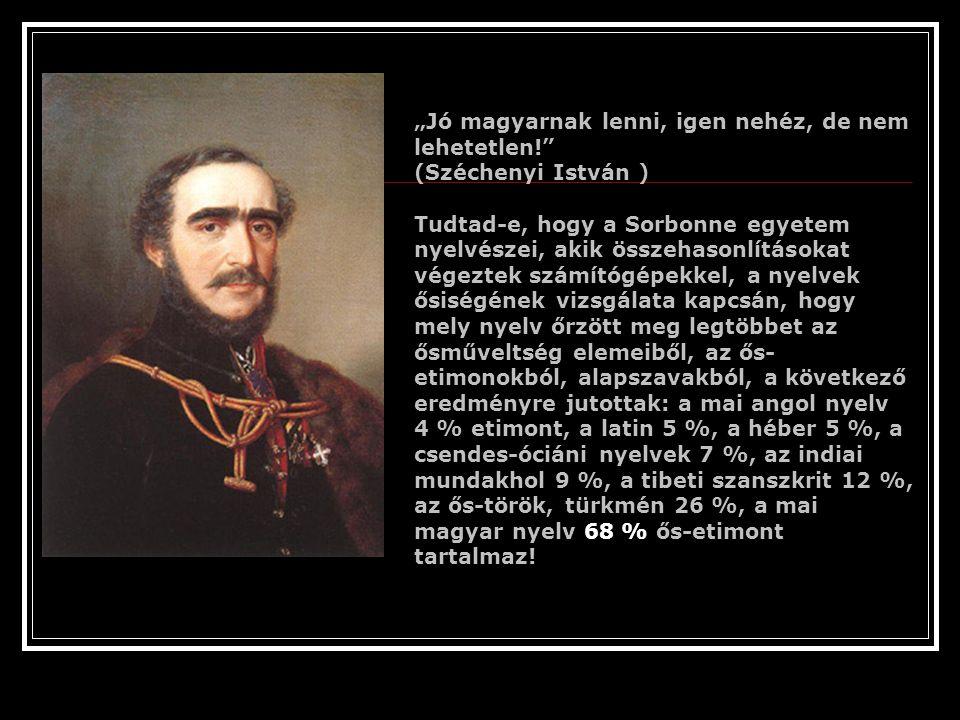 """""""Jó magyarnak lenni, igen nehéz, de nem lehetetlen!"""
