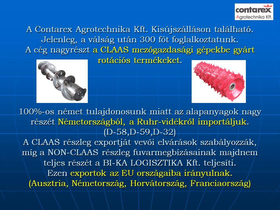 A Contarex Agrotechnika Kft. Kisújszálláson található