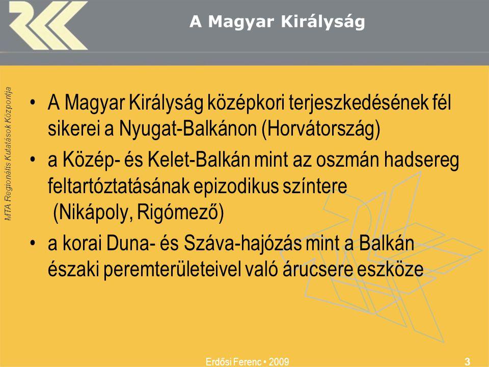A Magyar Királyság A Magyar Királyság középkori terjeszkedésének fél sikerei a Nyugat-Balkánon (Horvátország)