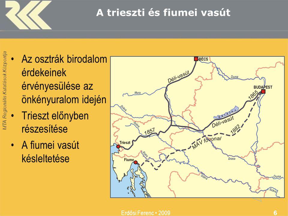 A trieszti és fiumei vasút