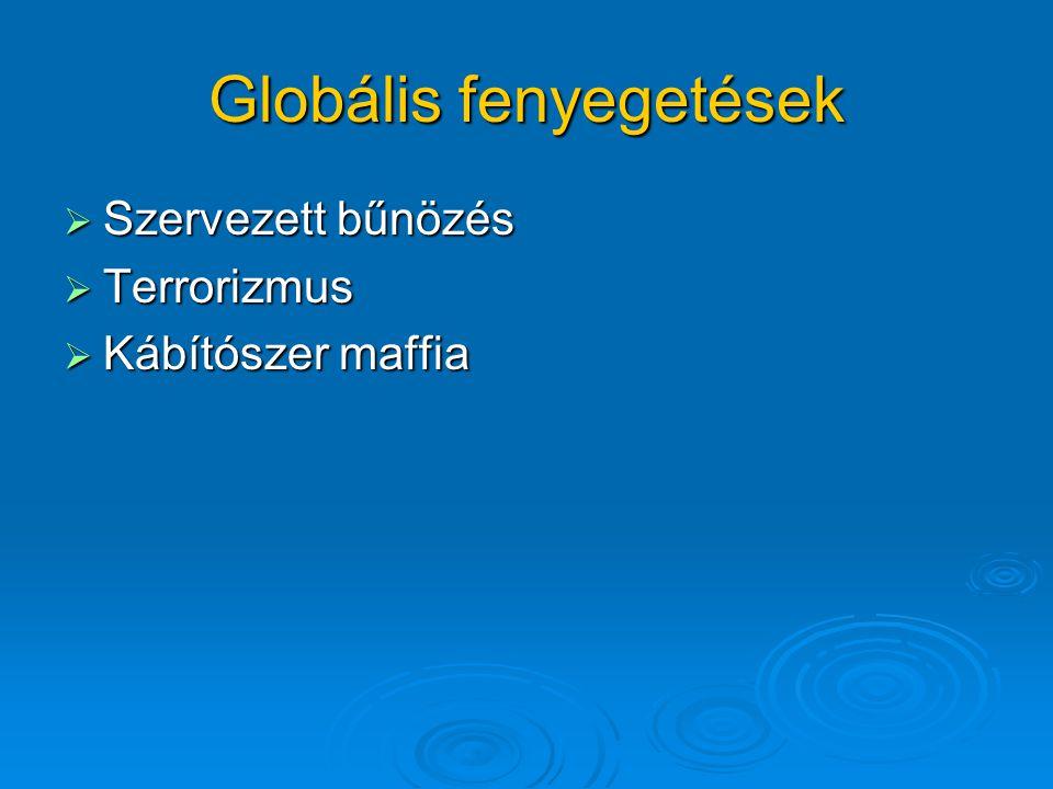 Globális fenyegetések