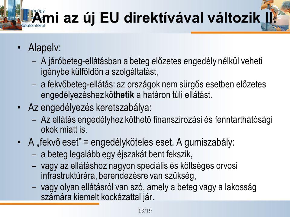 Ami az új EU direktívával változik II.