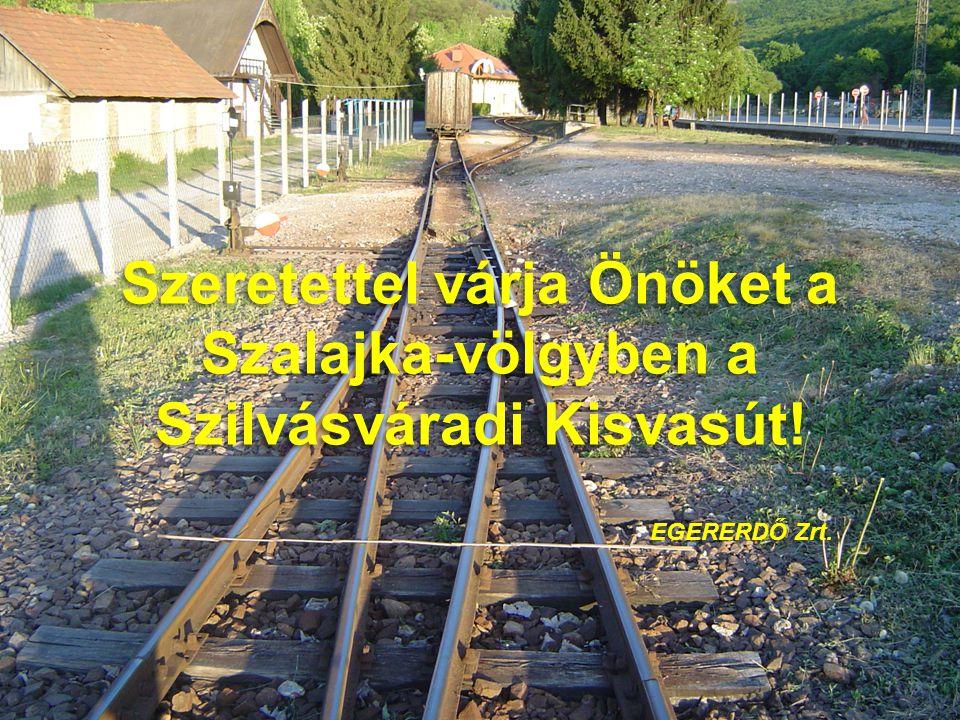 Szeretettel várja Önöket a Szalajka-völgyben a Szilvásváradi Kisvasút!