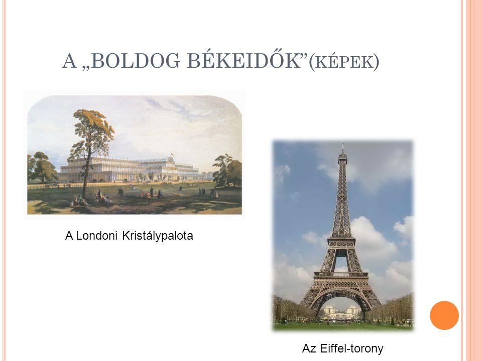 """A """"BOLDOG BÉKEIDŐK (képek)"""