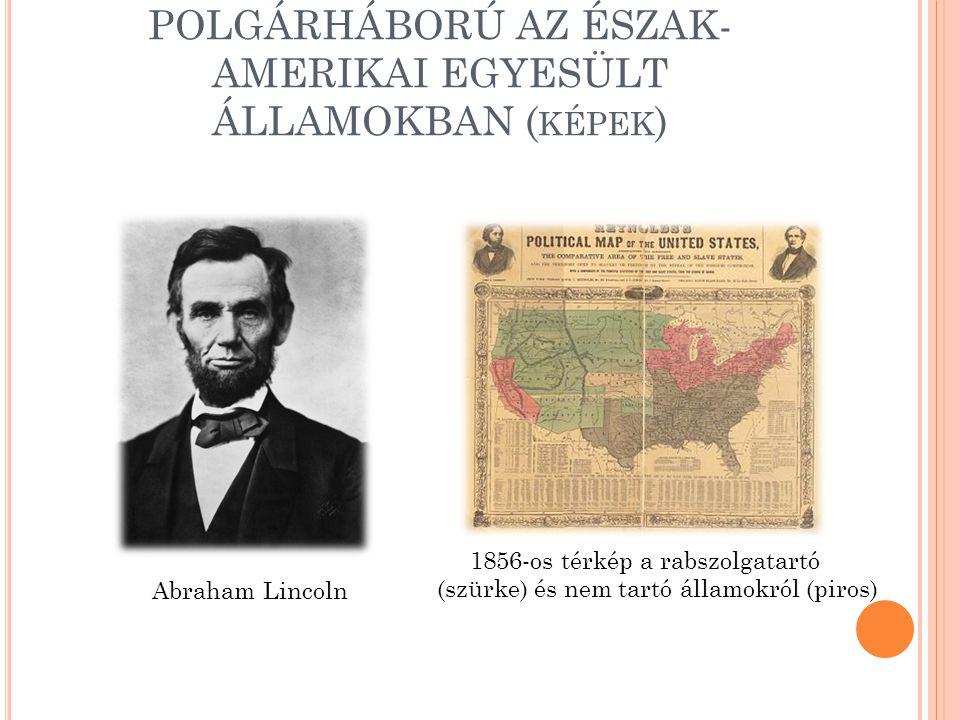 POLGÁRHÁBORÚ AZ ÉSZAK-AMERIKAI EGYESÜLT ÁLLAMOKBAN (képek)