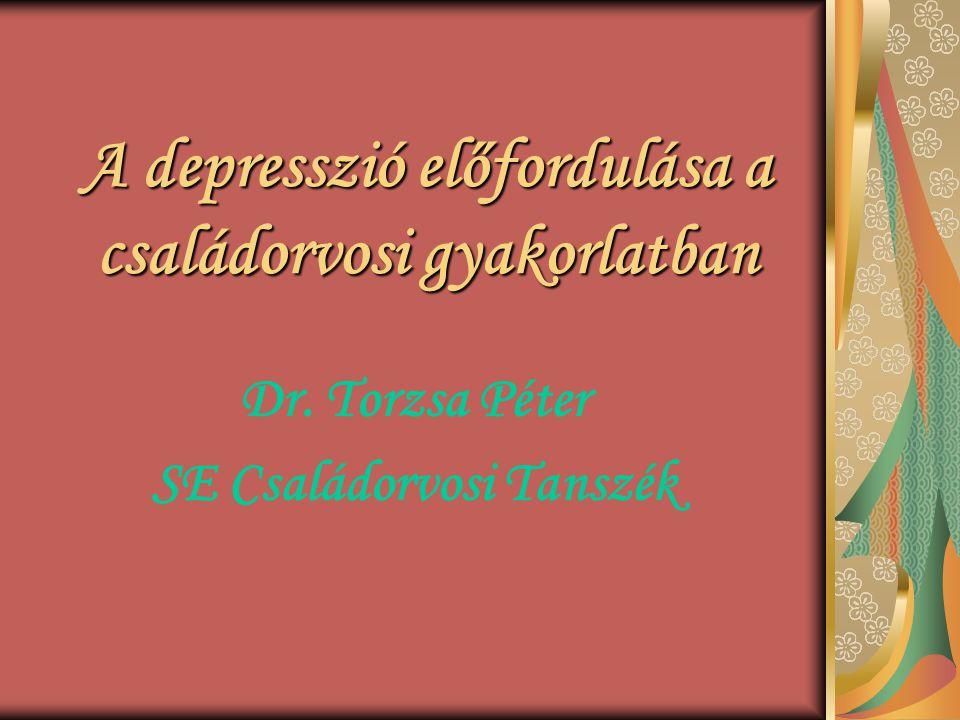 A depresszió előfordulása a családorvosi gyakorlatban