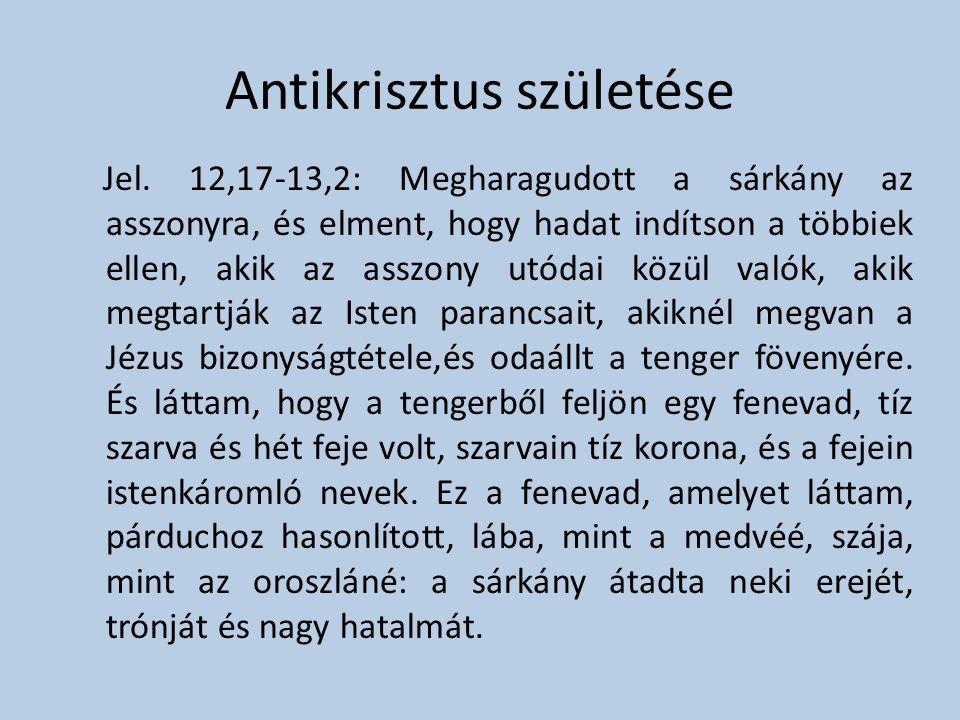 Antikrisztus születése