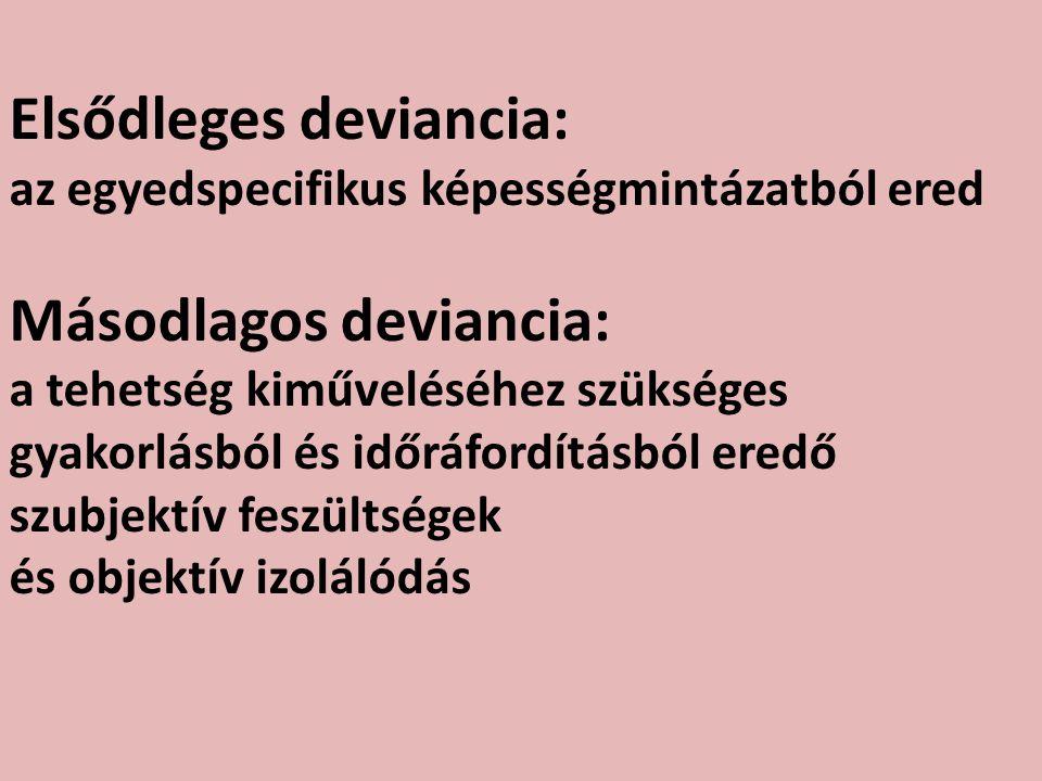 Elsődleges deviancia: