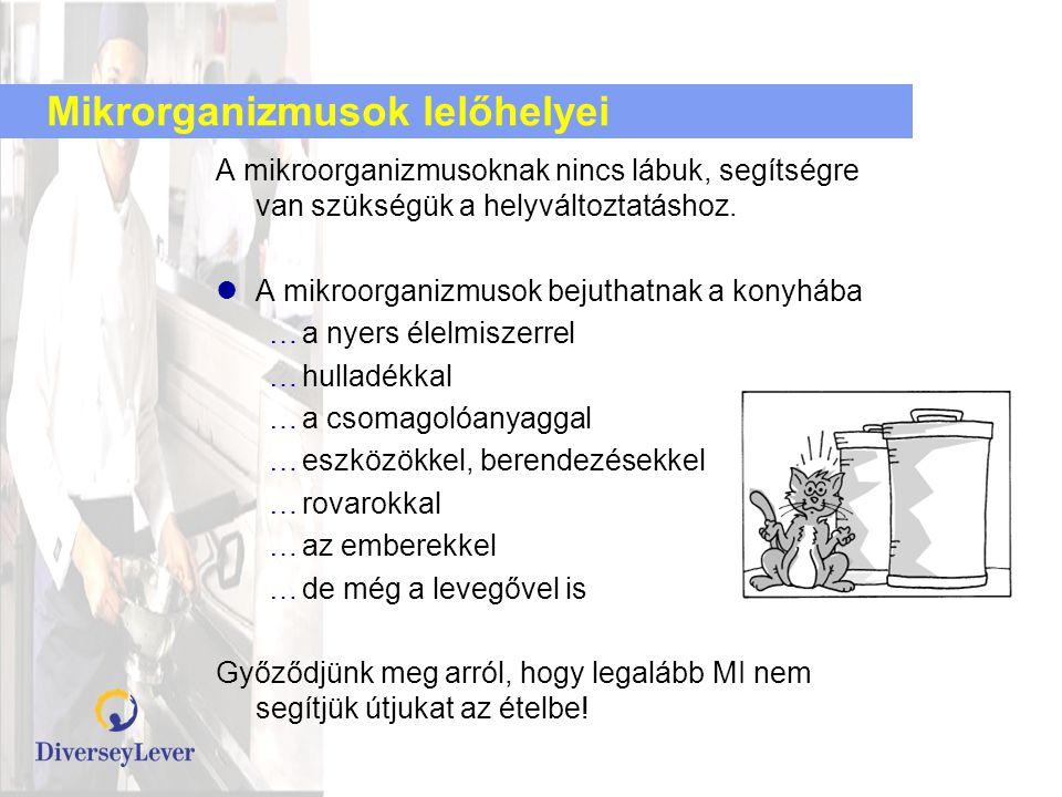 Mikrorganizmusok lelőhelyei