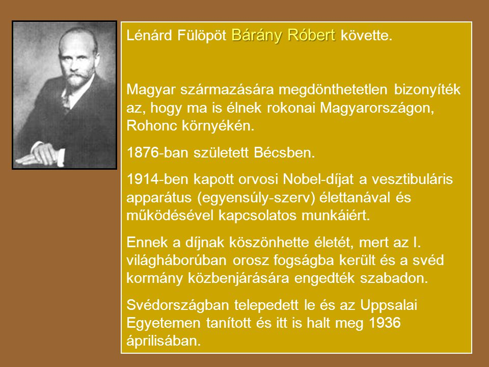 Lénárd Fülöpöt Bárány Róbert követte.