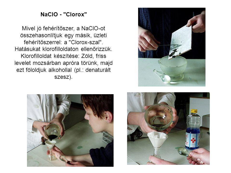NaClO - Clorox