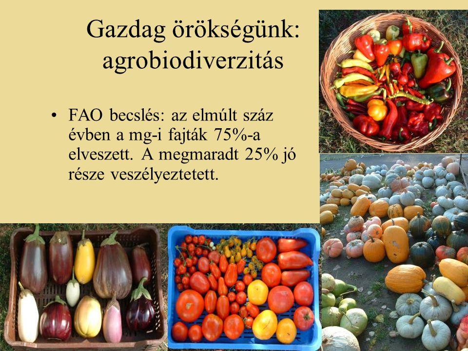 Gazdag örökségünk: agrobiodiverzitás