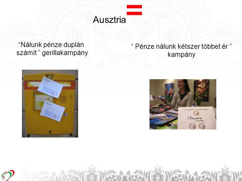 Ausztria Nálunk pénze duplán