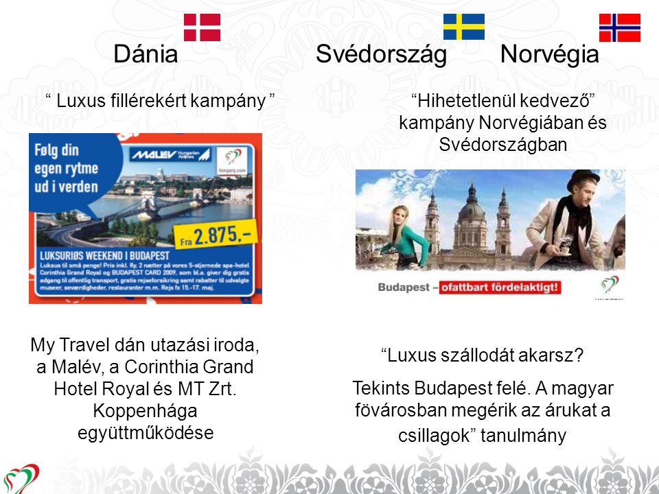 Dánia Svédország Norvégia Luxus fillérekért kampány