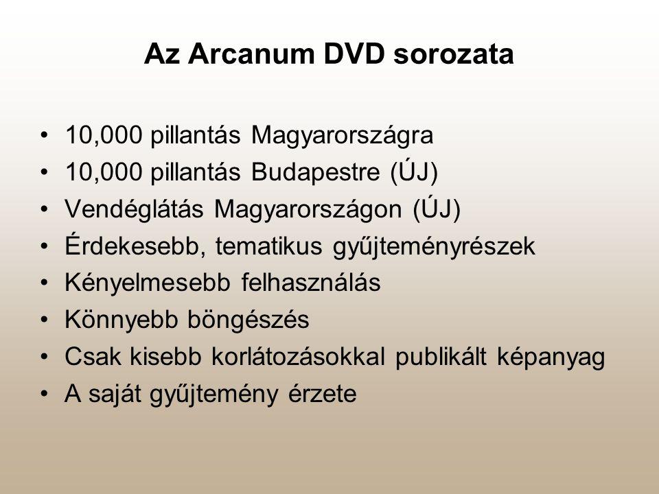 Az Arcanum DVD sorozata