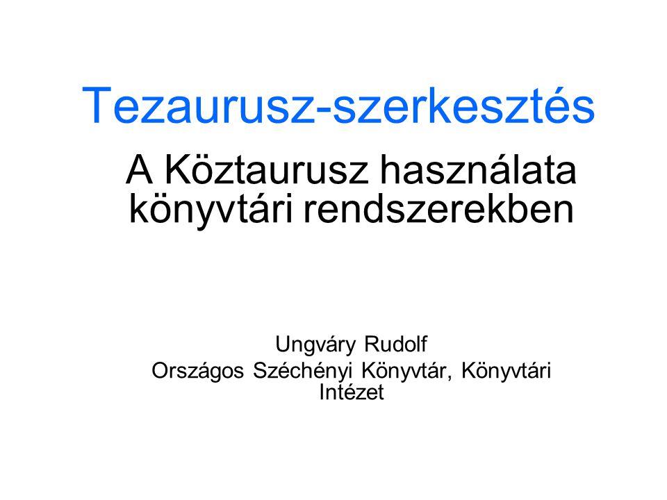 Tezaurusz-szerkesztés