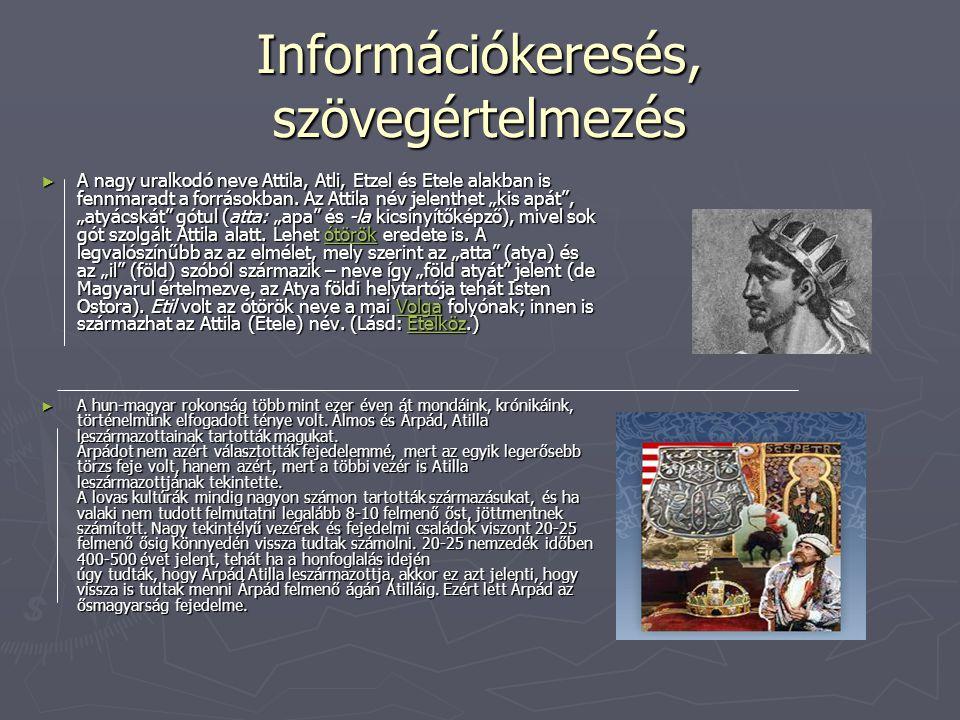 Információkeresés, szövegértelmezés