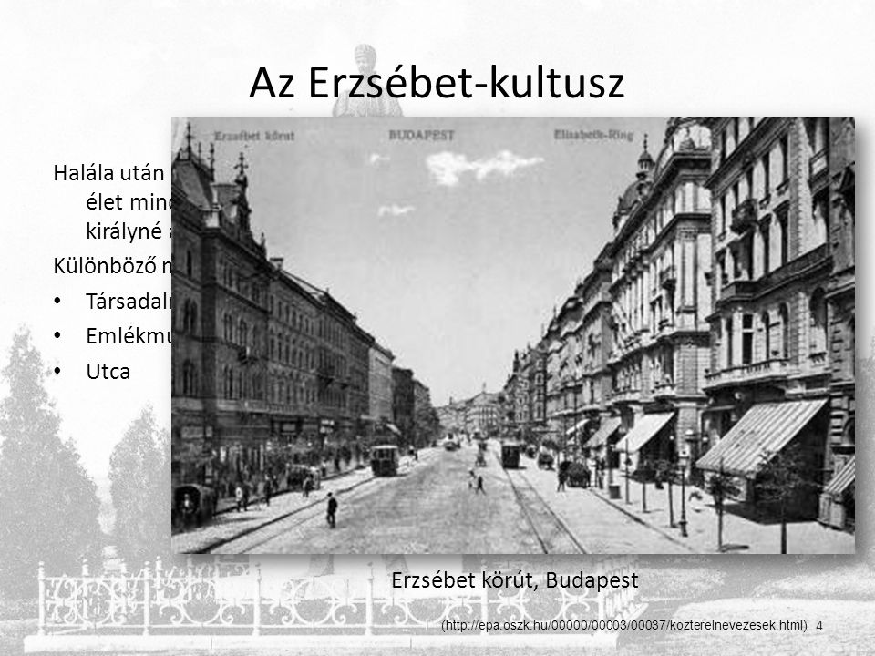 Erzsébet körút, Budapest
