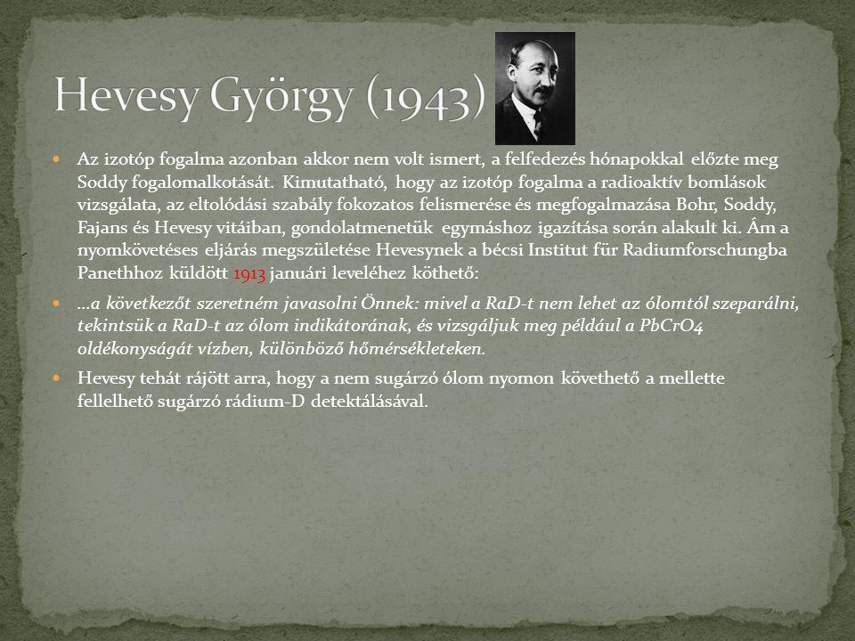 Hevesy György (1943)