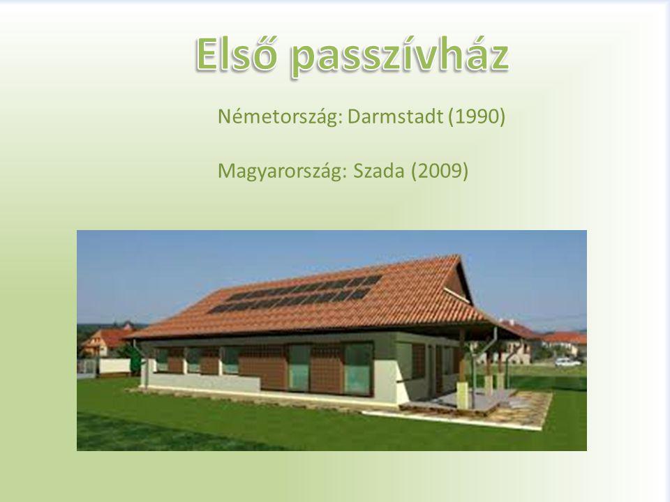 Első passzívház Németország: Darmstadt (1990)