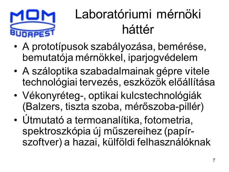 Laboratóriumi mérnöki háttér