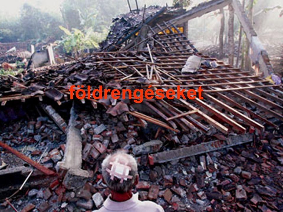földrengéseket