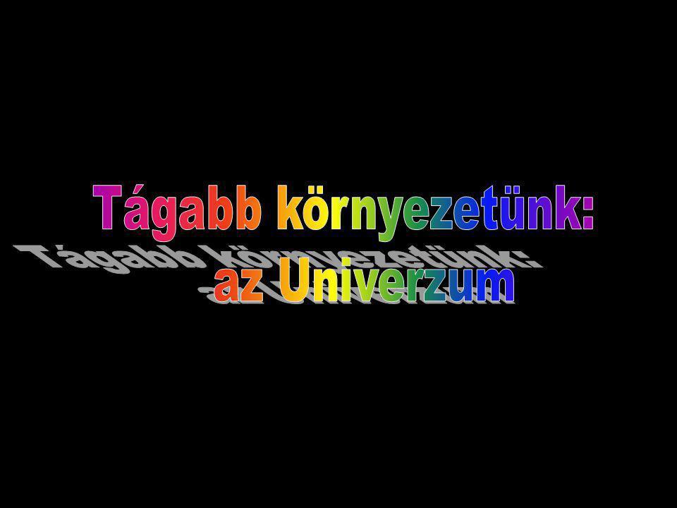 Tágabb környezetünk: az Univerzum