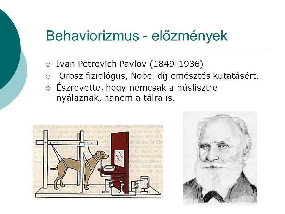 Behaviorizmus - előzmények