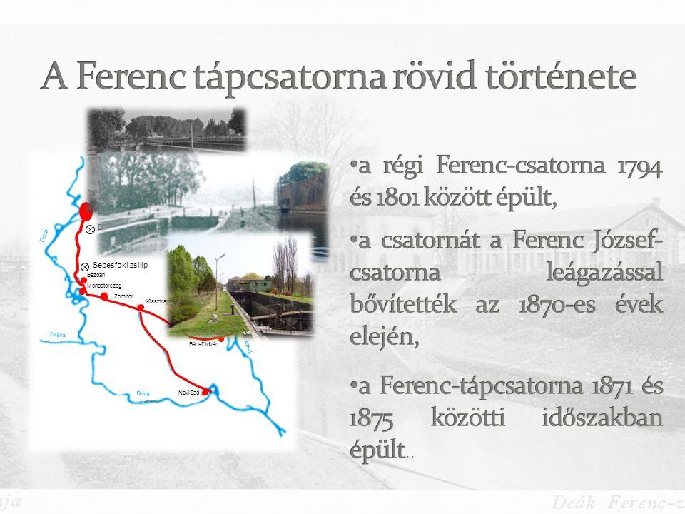 A Ferenc tápcsatorna rövid története